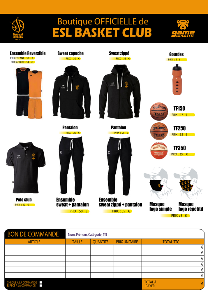 BOUTIQUE ESL BASKET 2020 2021